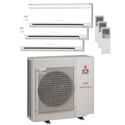 system a conditioning does mitsubishi cooling how and heating photo mini ductless split systems work installhigh air