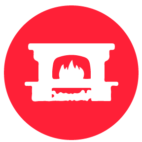 Fireplaces Icon