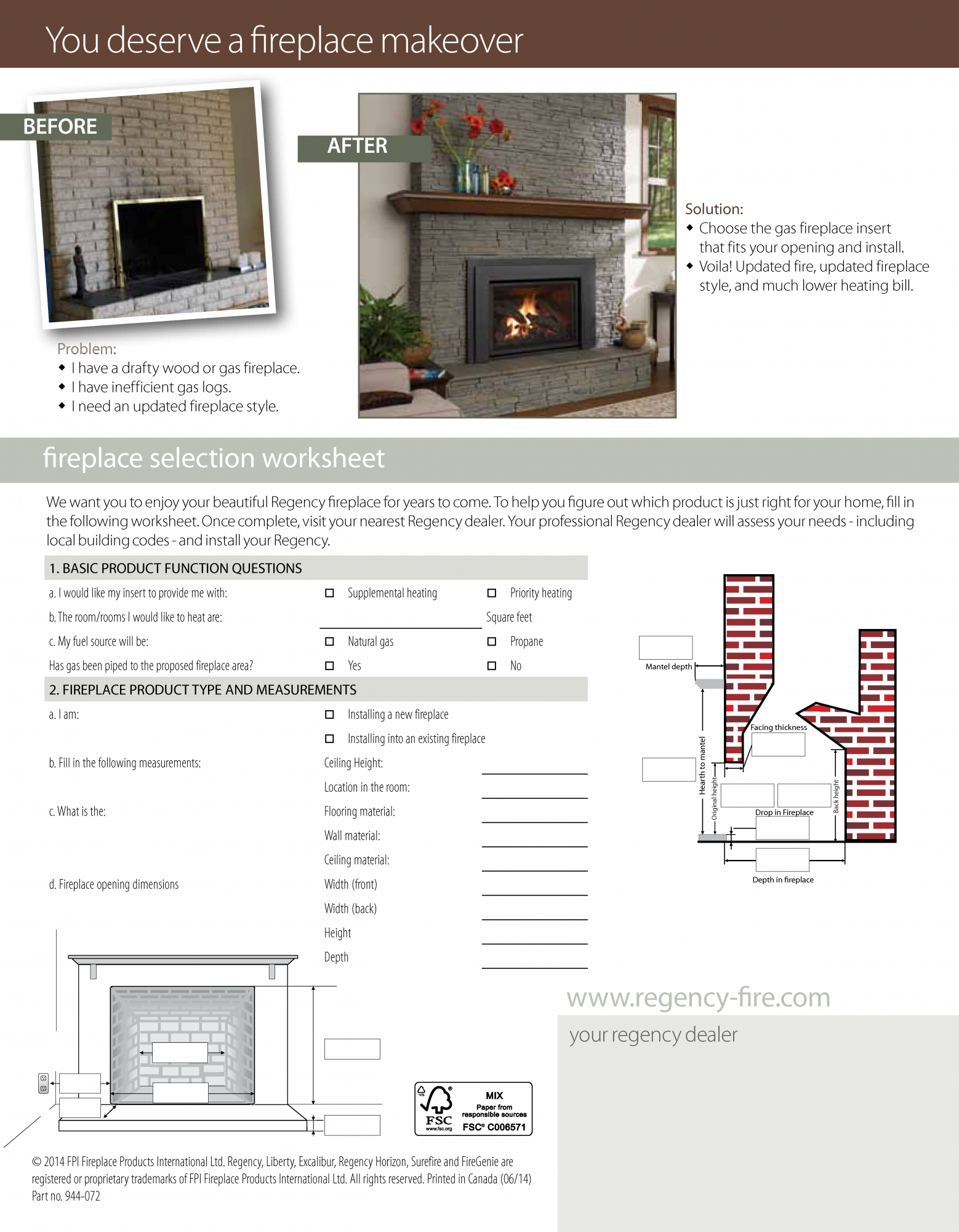 Fireplaces - Ashland Comfort Control