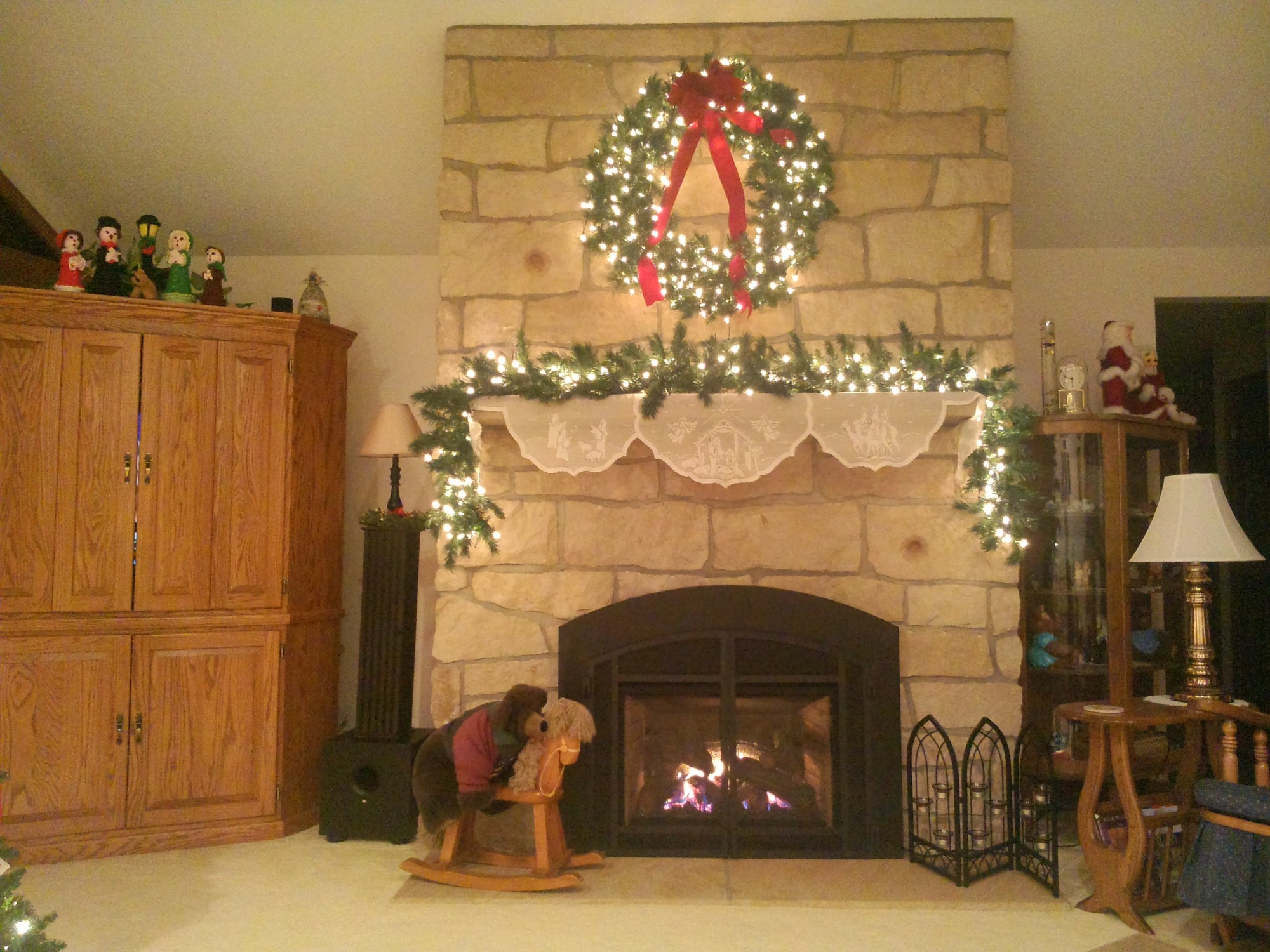 Frayer Fireplace