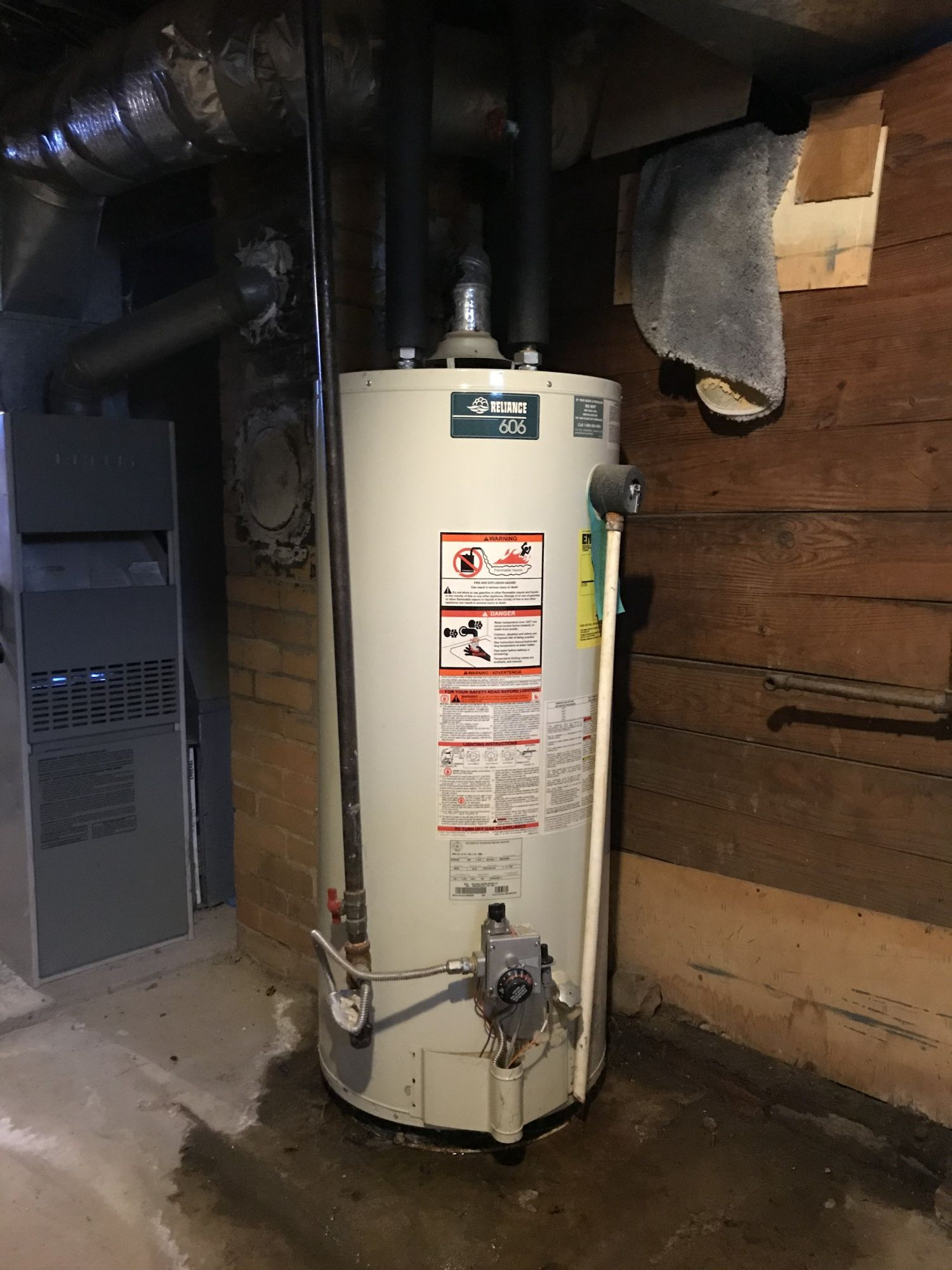 Leaky Water Heater